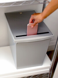 Electronic Waste Container