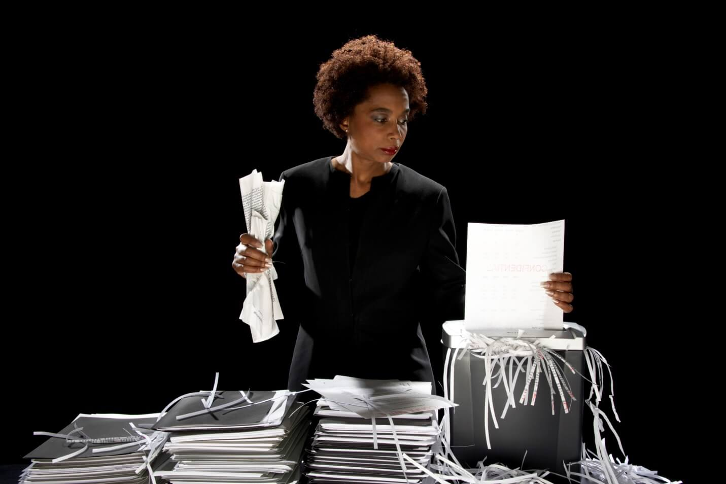 don't use office shredders for these reasons