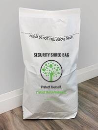 Secure Shred Bag